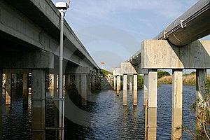 Bridge Over The Saint John's  Royalty Free Stock Images - Image: 4525209