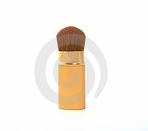 Soft Cosmetic Brush Royalty Free Stock Photos - Image: 4526348