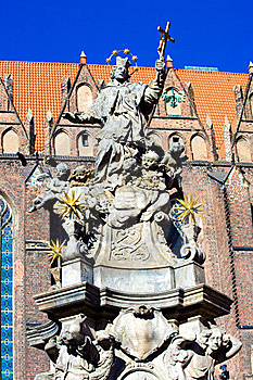 Religious Statue Royalty Free Stock Images - Image: 4528249