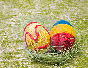 Easter Eggs Royalty Free Stock Image - Image: 4529156