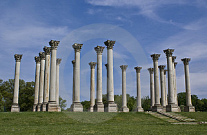 Capital Columns Royalty Free Stock Photos - Image: 4533638