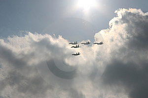 Five Planes Stock Photography - Image: 4536032