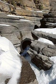 Frozen Canyon Stock Image - Image: 4539031