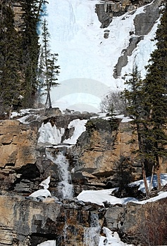 Frozen Falls Royalty Free Stock Photo - Image: 4539295