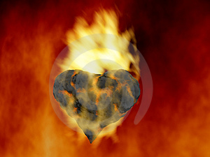Element Fire Royalty Free Stock Photography - Image: 4539537