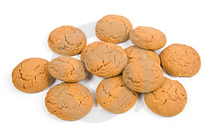 Oatmeal Cookies Royalty Free Stock Images - Image: 4542679