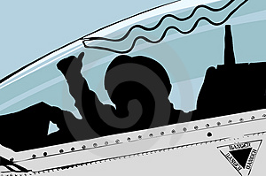 Jet Pilot: Vector Stock Image - Image: 4550631