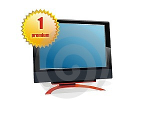 Premium Monitor Display Stock Photo - Image: 4552290