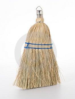 Hand Broom Hard Light. Stock Photo - Image: 4552800