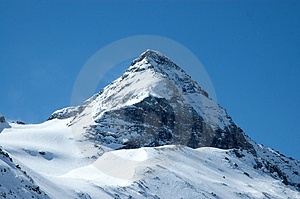 Alpin winter Stock Image