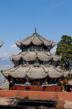 Pagoda In Temple Royalty Free Stock Photo - Image: 4559175