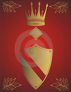 Golden Crown Free Stock Image