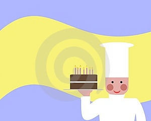 Cooked A Cake Stock Photos - Image: 4563113