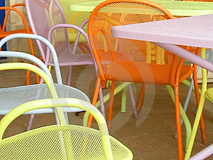Cafe Tables Stock Photos - Image: 4573323