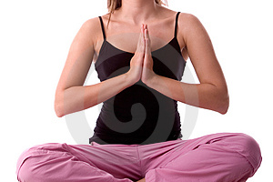 Yoga pose Free Stock Image