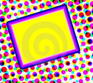 Colorful Dots With Copyspace Royalty Free Stock Photo - Image: 4578355
