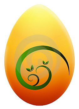 Easter Egg Illustration Royalty Free Stock Photos - Image: 4580518
