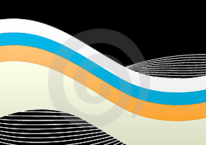 Abstract Layered Lines Background Stock Photography - Image: 4582732