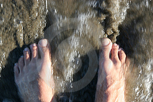 Ocean Feet Royalty Free Stock Photo - Image: 4583445