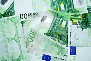 100 Euros Arkivbild - Bild: 4591292