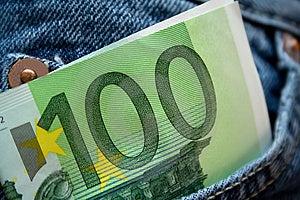 100 Euros Royalty Free Stock Photo - Image: 4591375