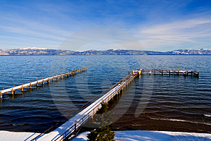 Lake Tahoe At Winter Royalty Free Stock Images - Image: 4594879