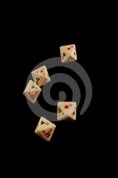 Dead Mans Dice Royalty Free Stock Photos - Image: 460258