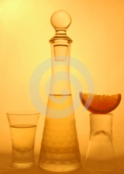 Shot Glasses Royalty Free Stock Photography - Image: 463997
