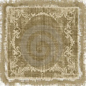 Decorative Fabric Grunge Royalty Free Stock Images