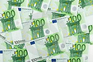 Euro Background Royalty Free Stock Photography - Image: 4611137