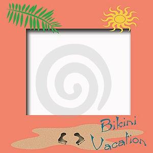 Bikini Vacation Stock Image - Image: 4615441