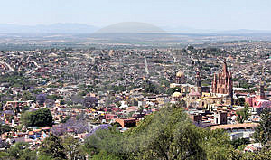 San Miguel De Allende Royalty Free Stock Photo - Image: 4619105
