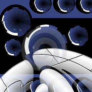 Hi-tech Backdrop. Stock Photography - Image: 4622142
