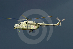 A Russian Army Transport Helicopter Stock Photo - Image: 4630790