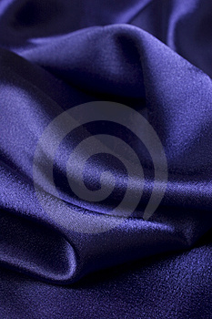 Deep Blue Silk Cloth Detail Royalty Free Stock Photography - Image: 4636407