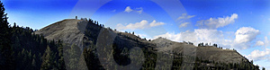 Panoramic Of The Hills Stock Photography - Image: 4640832