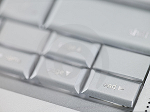 Keyboard End Key Royalty Free Stock Image - Image: 4641026