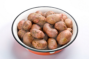New Potatoes Stock Photo - Image: 4646450