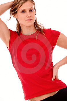 Young Slim Caucasian Girl Stock Photography - Image: 4651112
