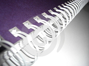 Dynamic Spiral Binding Stock Image - Image: 4652841