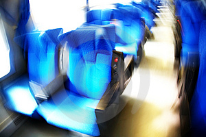 Train Seats Royalty Free Stock Image - Image: 4653016