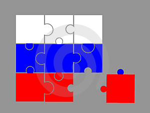 Flag Of Russia Stock Photography - Image: 4653692