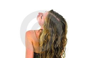 Schitterend Meisje Royalty-vrije Stock Foto's - Afbeelding: 4654648