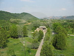 Tomb Of Ancient Koguryo Kingdo Stock Image - Image: 4657711
