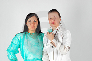 Gruppo Femminile Di Medici Immagine Stock Libera da Diritti - Immagine: 4658226