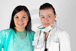 Female Doctors Team Stock Photography - Image: 4658902