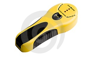 Yellow And Black Stud Finder Stock Photography - Image: 4660612
