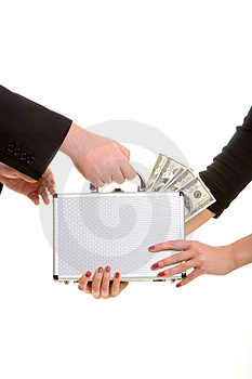 Paycheck Stock Photography