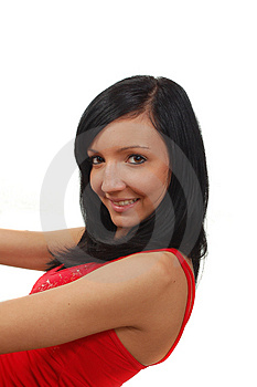 Fit Girl Smile Into Camera Royalty Free Stock Photo - Image: 4666255