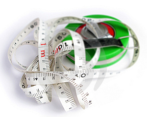 Tape Measuring Tool Royalty Free Stock Photography - Image: 4666737